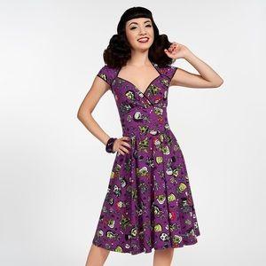 Pinup Girl Monster Mayhem Luscious Dress